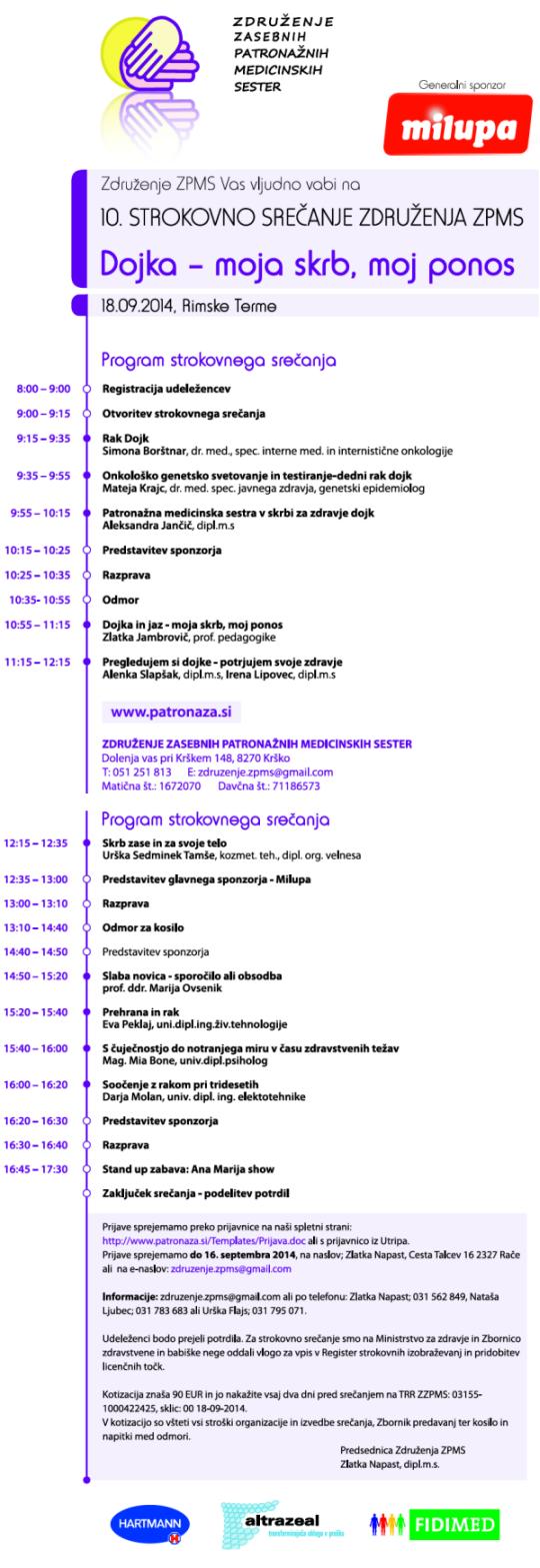 10. strokovno srečanje združenja ZPMS
